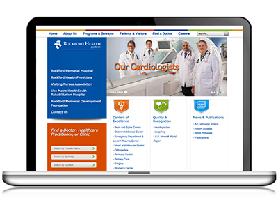 Rockford Health System Custom CMS