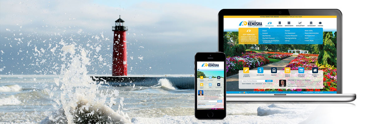 City of Kenosha Web Design