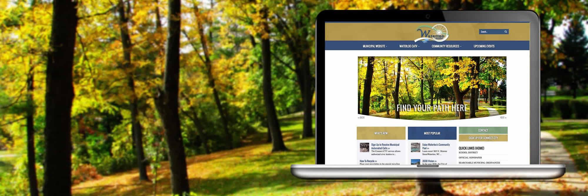 City of Waterloo Website Design